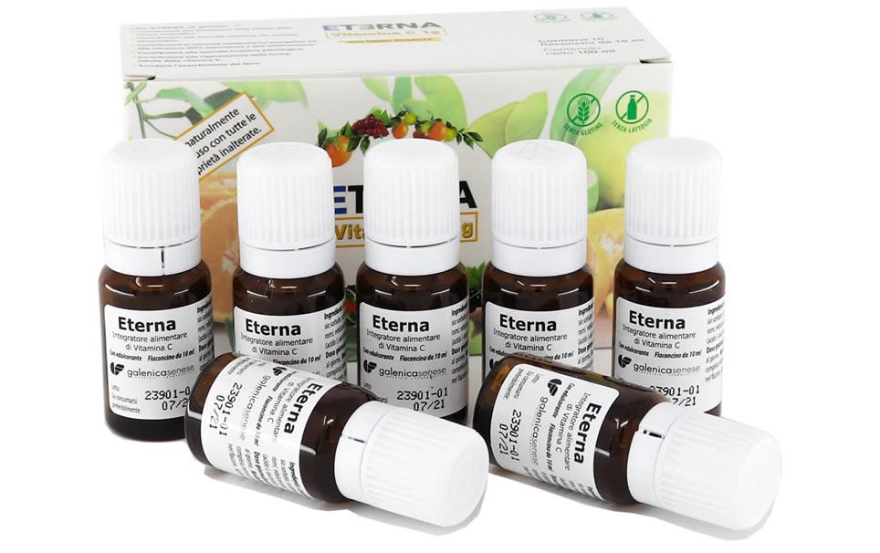 Eterna Vitamina C 1g Integratore alimentare